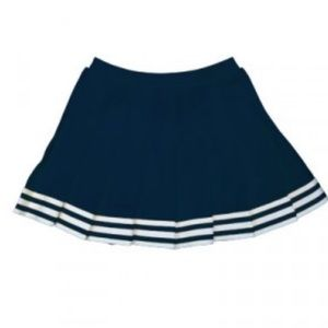 Navy Cheerleader Skirt